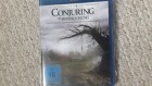 The Conjuring blu ray.