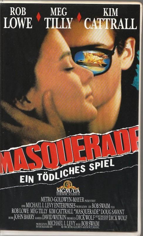 Masquerade - Ein tödliches Spiel ( Rob Lowe ) MGM1988