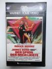 Der Spion der mich liebte, GBR 1977, VHS, Warner Erstausg.