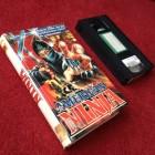 AMERICAN NINJA Ron Marchini / Mike Monty VHS Geiselgasteig
