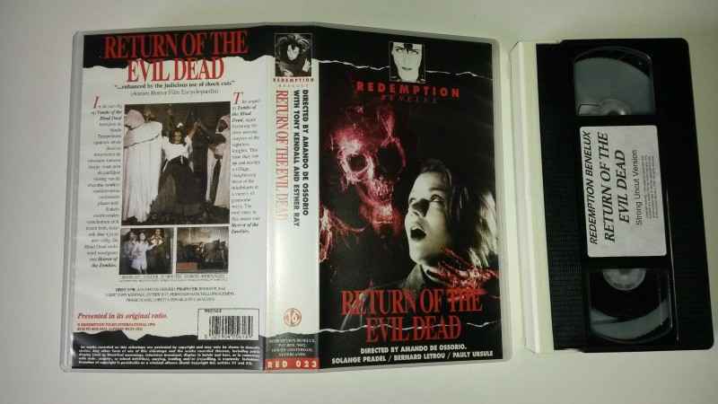 VHS - RETURN OF THE EVIL DEAD - Redemption