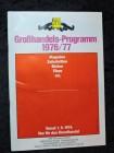 ZBF Großhandelsprogramm - Magazine Filme Bücher 1976 / 77 1