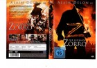 DIE LEGENDE ZORRO - Alain Delon KULT -BEST ENTERTAINMENT DVD