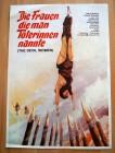 FRAUEN DIE MAN TÖTERINNEN NANNTE Poster A1, Version 1