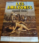 THE AMAZONS Poster, Frankreich, riesig, sexy, Terence Young