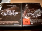 Texas Chainsaw Massacre + Texas Chainsaw 2D - 2 DVDs