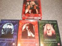 HAMMER HOUSE OF HORROR Vampire Collection UK 3 DVDs