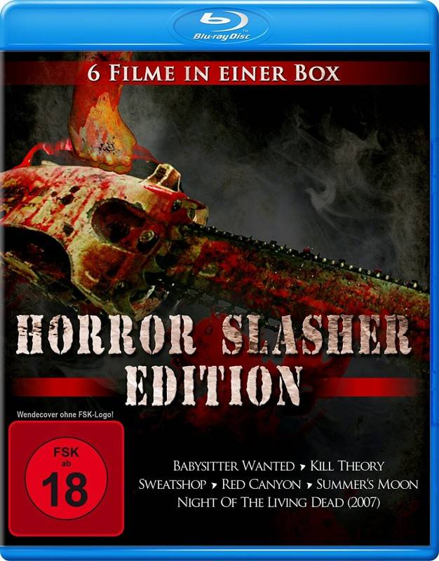 Horror Slasher Edition (6 Filme in einer Box) [Blu-ray] OVP
