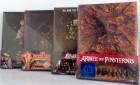4 Mediabooks Blu-Ray in Lederoptik Soft-Touch