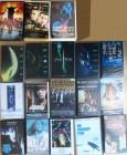 VHS-Sammlung Alien I-IV, Blade Runner, Siebte Zeichen u.v.a.