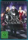 Dark Shadows DVD Michelle Pfeiffer, Johnny Depp NEUWERTIG