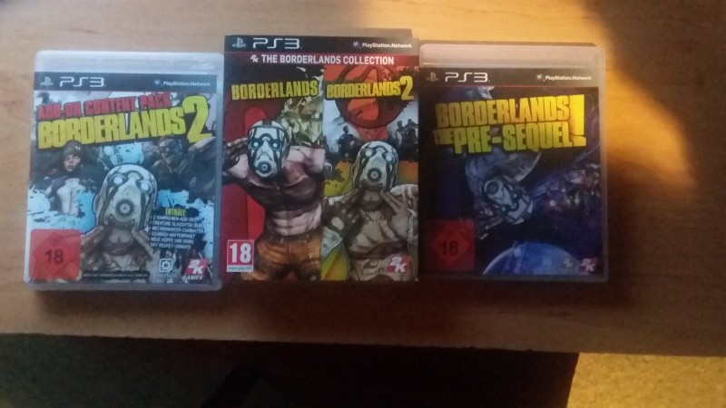 Borderlands Ps3 Komplett-Paket !!!