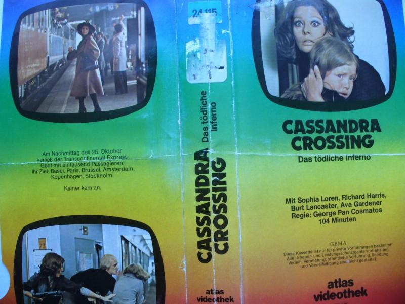 Cassandra Crossing..Sophia Loren, Richard Harris .. Glasbox!