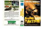 MISSING IN ACTION - VMP kl.Cover VHS