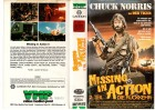 MISSING IN ACTION Teilö.2 - VMP gr.Cover VHS