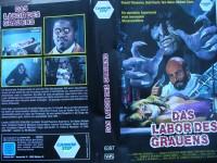 Das Labor des Grauens ...   Horror - VHS !!