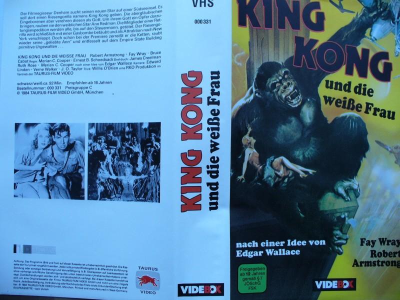 King Kong und die weiße Frau ... Fay Wray
