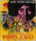 WOMEN in CAGES (FRAUEN HINTER ZUCHTHAUSMAUERN) BLU RAY UNCUT