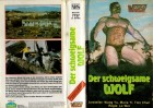 DER SCHWEIGSAME WOLF - Wang Yu - VEGAS gr.Hartbox VHS