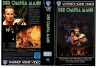DER OMEGA MANN - Charlton Heston KULT - WB gr.Cover VHS