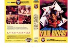 FOUR RIDERS - D.Chiang,Ti Lung usw - VPS kl.Cover VHS