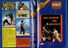 DER HENKER DER SHAOLIN - MH Fensterbild gr.Cover Verschw VHS