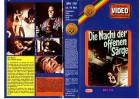 DIE NACHT DER OFFENEN SÄRGE - MH Fensterbild gr.Cover VHS
