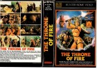 THE THRONE OF FIRE - gr.Cover MH Cover VHS