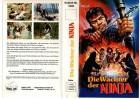 DIE WÄCHTER DER NINJA -Alexander Lou-VIDEO-LIVE gr.Cover VHS
