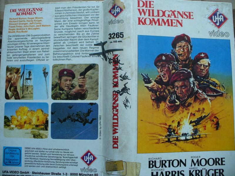 Die Wildgänse kommen ... Richard Burton, Roger Moore