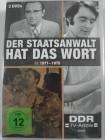 Der Staatsanwalt hat das Wort - 1971 - 1975 DDR Krimi