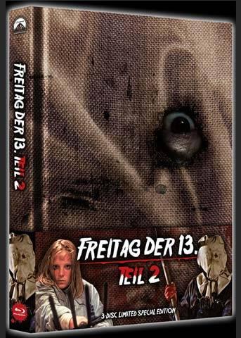 FREITAG DER 13. - Teil 02 - JASON KEHRT ZURÜCK Mediabook