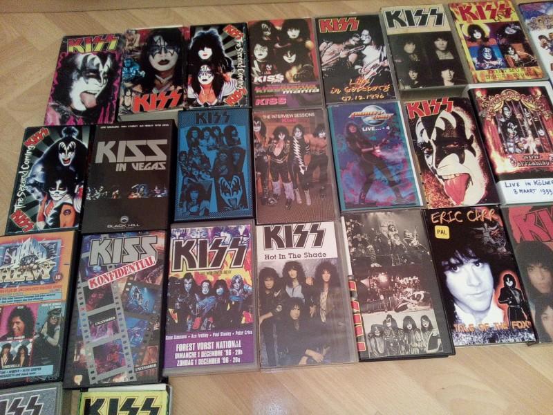 KISS Rockband , Heavy Metal Paul Stanley Gene Simmon E Carr.