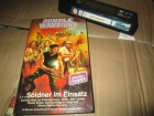 VHS - Jungle Warriors - Sybil Danning - Silwa Hardcover