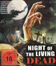 Night of the Living Dead, marketing-film, Blu-ray, uncut