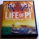 Life of Pi - Schiffbruch mit Tiger # DVD # FSK12
