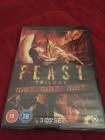 DVD Feast Trilogie - FULL UNCUT UK-Import