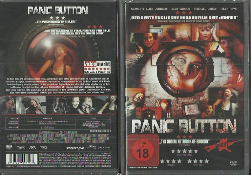 Panic Button UNCUT  (3902512, NEU  -!! AB 1 EURO!!