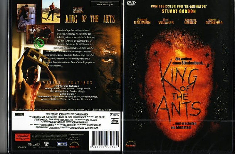 King of the Ants  (3902512, NEU -!! AB 1 EURO!!)