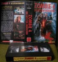 Zombie 4 Die letzten Menschen VHS Uncut Directori