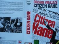 Citizen Kane ...  Orson Welles   ...   Taurus  - VHS !!!