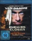 ENEMIES CLOSER Blu-ray - Van Damme Peter Hyams Action Thrill