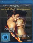 NEVER TALK TO STRANGERS Blu-ray - Banderas De Mornay Klassik