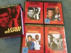 Lethal Weapon 1 - 4 UNCUT DVD Box Directors Cut Versionen