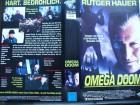 Omega Doom ...  Rutger Hauer  ...  VHS !!!