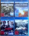 4 * Horror Blu-ray's -3D  Special E.(NEU&EINGESCHWEIßT)