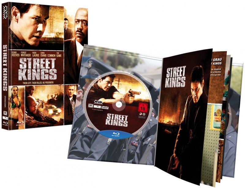 Street Kings - Mediabook A (Blu Ray+DVD) NSM - NEU/OVP