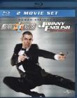 JOHNNNY ENGLISH 1 & 2 2x Blu-ray set Rowan Atkinson Spass