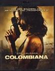 COLOMBIANA Blu-ray - Zoe Saldana Action Luc Besson Prod.
