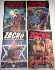 ZACKo #1-4 -Comic für Erwachsene // Erotic-Horror-SciFi